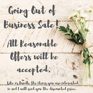 SALE CLOSET WIDE!  Make me a reasonable offer!